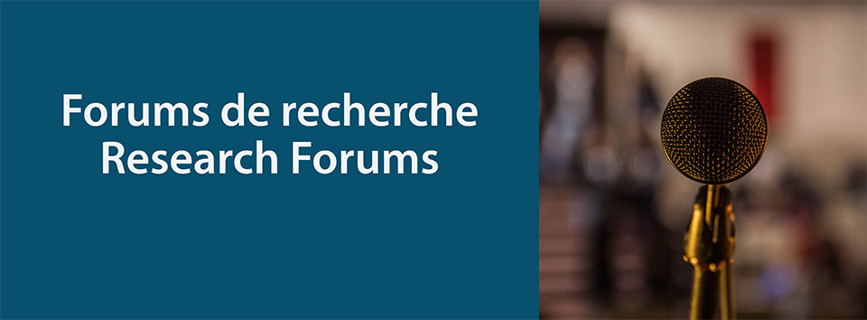Join us at the next Research Forum